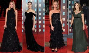 stars wear BAFTA